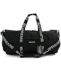 Supreme - Duffle Bag · Box Logo 2 Wayshoulder Boston Bag / Black X White / - Lyst