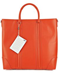 Givenchy   Lucrezia Tote Bag Cowhide Leather Orange 14m5840036 820 (s)   Lyst