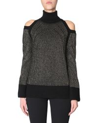 Versace - Collection Women's G35810g604201g1008 Black Wool Sweater - Lyst