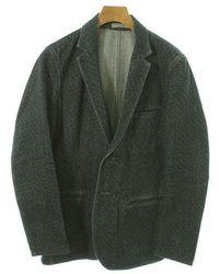 Bottega Veneta - Tailored Jacket Blue 48 - Lyst