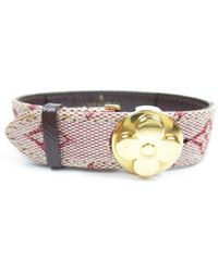 Louis Vuitton | Logo Canvas Good Luck Bracelet Monogram | Lyst