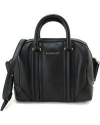 Givenchy   Lucrezia Hand 2way Shoulder Bag Leather Black Purse 90040167..   Lyst