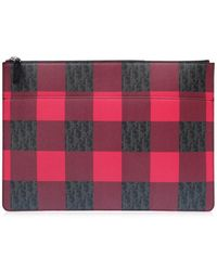 Dior Homme - 2 Deca 054 Xiwclutch Bag Red/black Pvc 0446 - Lyst