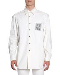 Raf Simons - Over Denim Shirt - Lyst