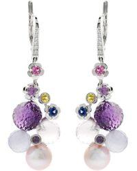 Chanel | Mademoiselle Pearl Diamond Earrings | Lyst