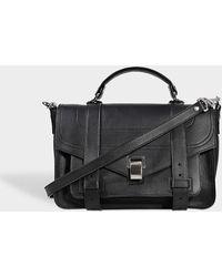 Proenza Schouler - Ps1 Medium + Grainy Calf Leather Bag - Lyst