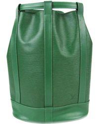 b842ae95a272 Louis Vuitton - Randnet Pm Shoulder Bag Epi Leather Borneo Green M52354 -  Lyst
