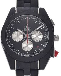 Dior - Shiful Rouge Chronograph Black Character Board Automatic Back Skew Cd 084840 - Lyst