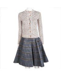 Alaïa - Set Skirt And Vest Size 36fr - Lyst