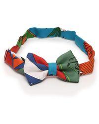 Hermès - Bowtie Bow Tie Silk Multi-color - Lyst