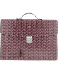 Goyard - Briefcases Purple - Lyst