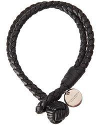 Bottega Veneta - Intrecciato Nappa Double Strand Bracelet - Lyst