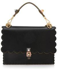 Fendi | Kan I Gold Chain Shoulder Bag | Lyst