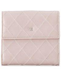 Chanel - Pre-owned Billfold Short Wallet - Lyst