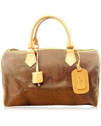 Etro | Boston Bag Paisley Ladies Mens Used T4636 | Lyst