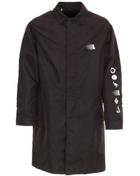 Lanvin - Raincoats & Trench Black - Lyst