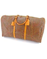 Etro | Boston Bag Paisley Mens Used S828 | Lyst
