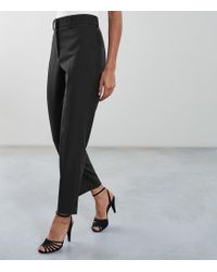 Reiss - Lilli - Tapered Tailored Trousers - Lyst