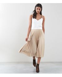 26b68ec1a Reiss - Isidora - Knife Pleat Skirt - Lyst