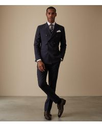 Reiss - Park - Double Breasted Suit - Lyst
