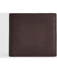 Reiss Leather Wallet - Brown