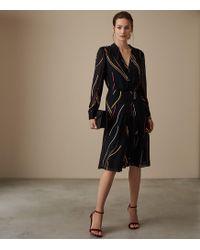Reiss - Caralisa Stripe Dress - Lyst
