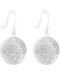 Reiss - Rhea Embellished Earrings With Crystals From Swarovski - Lyst