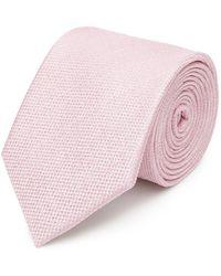 Reiss | Ceremony Textured Silk Tie | Lyst
