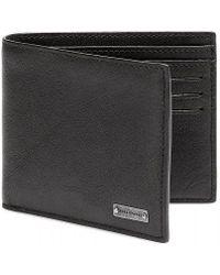 BOSS Orange - Brivio Black Leather Billfold Wallet - Lyst