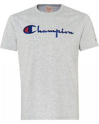 6a8d983262ed Champion Core Script T-shirt in Orange for Men - Lyst