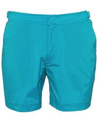 Orlebar Brown - Bulldog Sport Swim Shorts, Azure Blue Swimming Trunks - Lyst