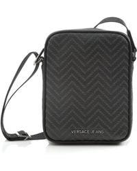 Versace Jeans - Small Wave Black Stash Bag - Lyst