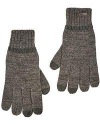 BOSS Orange Graas 2 Grey Wool Gloves