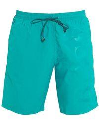 BOSS - Orca Aqua Blue Mid Length Swim Shorts - Lyst