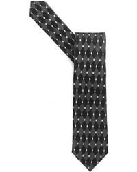 Armani - Tie, Black Diamond Silk Tie - Lyst