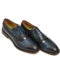 Oliver Sweeney - Oristano Shoe, Handburnished Midnight Navy Blue Shoe - Lyst