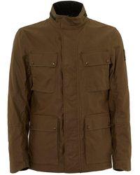 Belstaff - Explorer Jacket, Wax Finish Capers Coat - Lyst