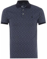 Ralph Lauren - Floral Polo, French Navy Multi Polo Shirt - Lyst