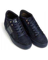 Android Homme - Propulsion Mid Trainers, Python Ink Blue Sneakers - Lyst