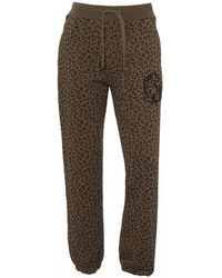 BBCICECREAM - Leopard Track Trousers, Brown Sweat Trousers - Lyst