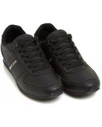 Versace Jeans Piped Sneakers, Black Sneakers