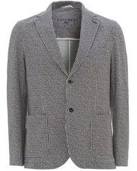 Circolo 1901 - Houndstooth Jacket, Semi Slim Fit Blazer - Lyst