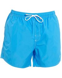 e47f41a638 BOSS Piranha Lobster Swim Trunks in Blue for Men - Lyst