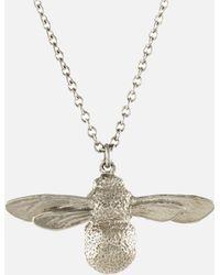 Alex Monroe - Baby Bee Necklace - Lyst