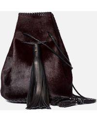 Wendy Nichol - Bullet Bag In Oxblood Pony - Lyst