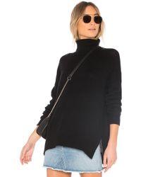 360cashmere - Amara Sweater In Black - Lyst