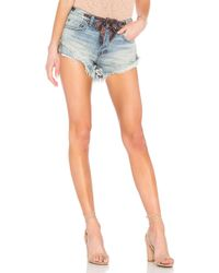Free People - Sashed Relaxed Short - Lyst