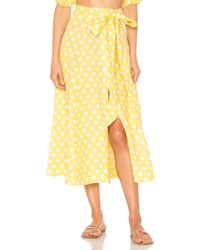 Lisa Marie Fernandez - Linen Beach Skirt - Lyst