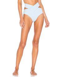 Kopper & Zink - Duke Bikini Bottom In Baby Blue - Lyst