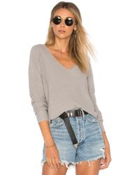 House of Harlow 1960 - X Revolve Miles Pullover In Grey - Lyst